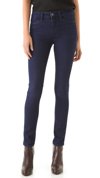 Vince Denim High Rise Skinny Jeans