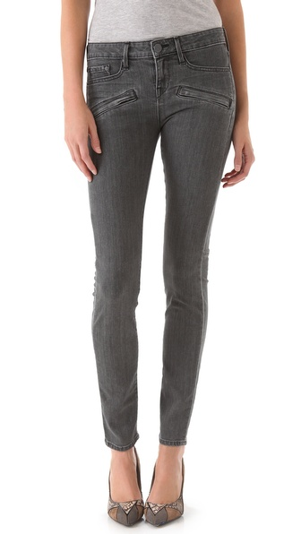 Vince Denim Welt Pocket Skinny Jeans