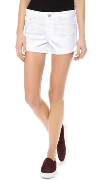 Vince Denim Dylan Skinny Rolled Shorts