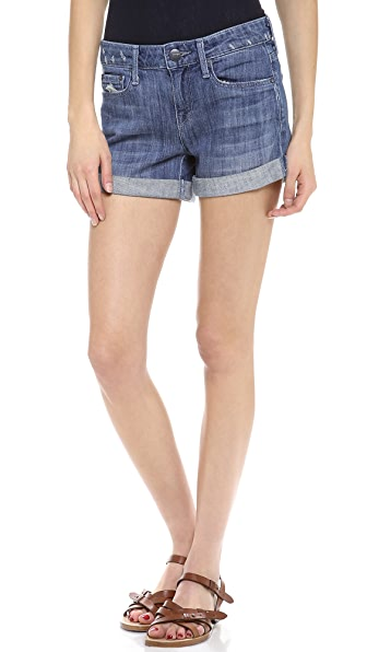 Vince Denim Dylan Skinny Rolled Short