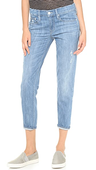 Vince Denim Mason Relaxed Rolled Jeans