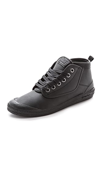 Volley Australia High Leap Leather High Top Sneakers