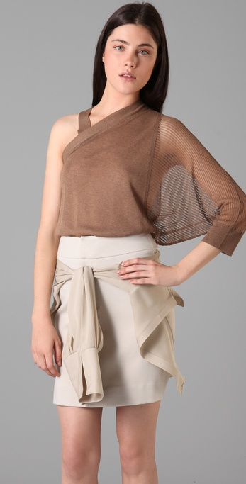 VPL One Shoulder Sweater