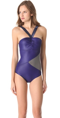 VPL Glamour Torsion One Piece Swimsuit