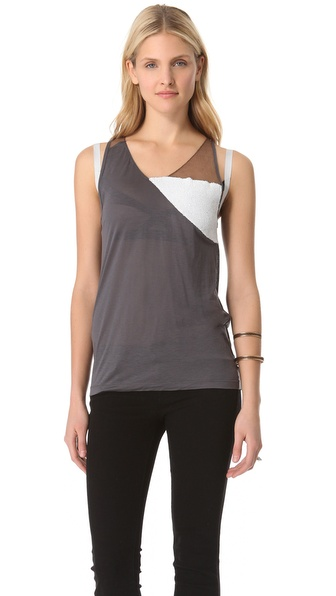 VPL Traid Sequin Tank