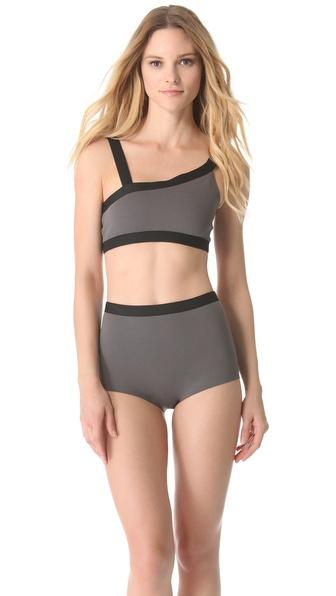 VPL Neoprene Bikini Top