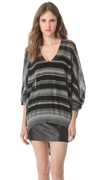 VPL Striped Cocoon Sweater