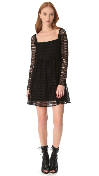 Viva Vena! by Vena Cava Geometric Lace Dress