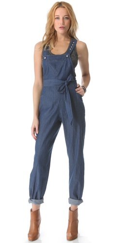 Viva Vena! by Vena Cava Mechanic Patch Pocket Overalls