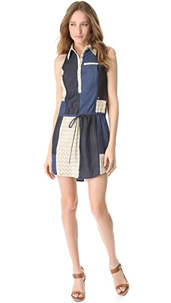 Viva Vena! by Vena Cava Chinati Patchwork Dress