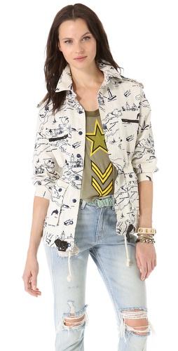 Viva Vena! by Vena Cava Belted Zip Pocket Jacket