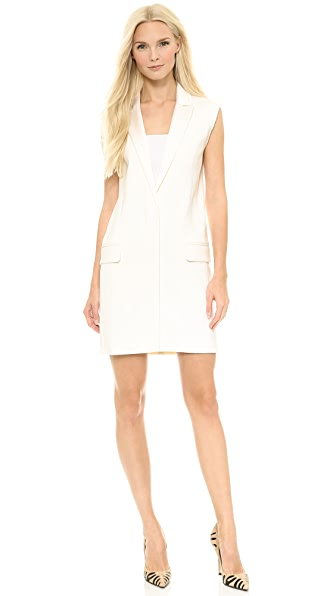Victoria Victoria Beckham Sleeveless Vest Dress