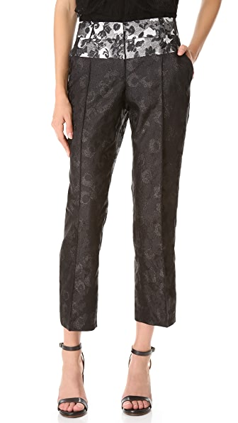 Vera Wang Collection Straight Pants