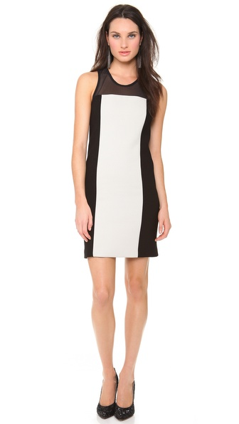 Vera Wang Collection Sleeveless Wool Dress