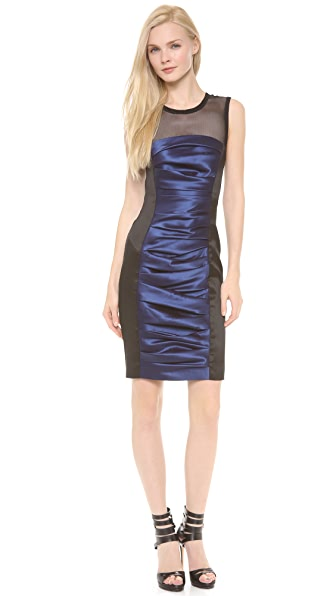 Vera Wang Collection Colorblock Sleeveless Dress
