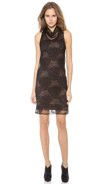 Vera Wang Collection Lace Tank Shift Dress