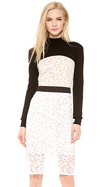 Vera Wang Collection Cropped Sweater
