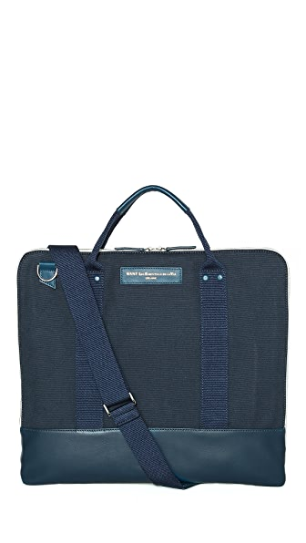 WANT Les Essentiels de la Vie Heathrow Commuter Bag