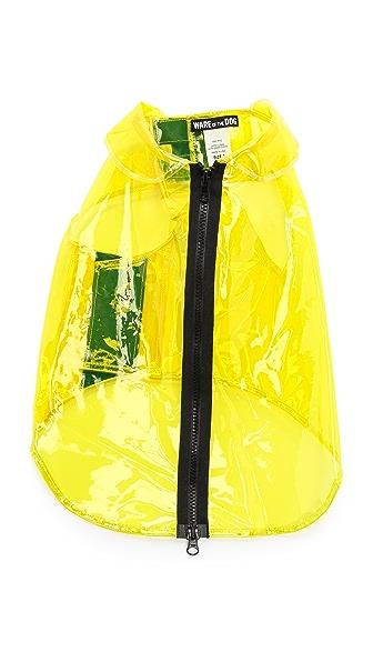 Ware of the Dog Large Dog Vinyl Raincoat
