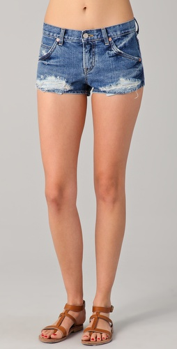 Washborn Denim Shorts