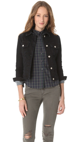 Washborn Stretch Denim Jacket