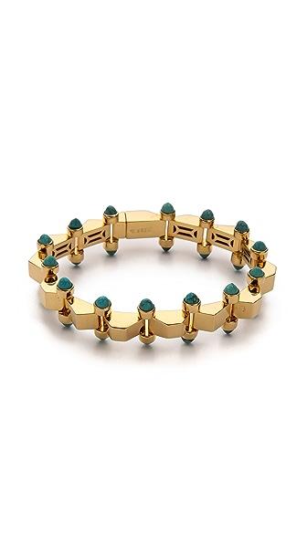 W. BRITT Mini Block Bracelet
