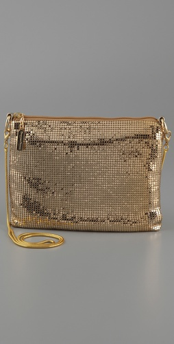 Whiting & Davis Metal Mesh Cross Body Bag