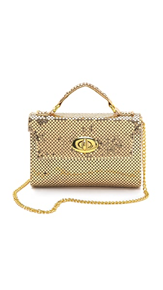 Whiting & Davis Chain Mail Mini Clutch