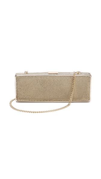 Whiting & Davis Rectangle Minaudiere