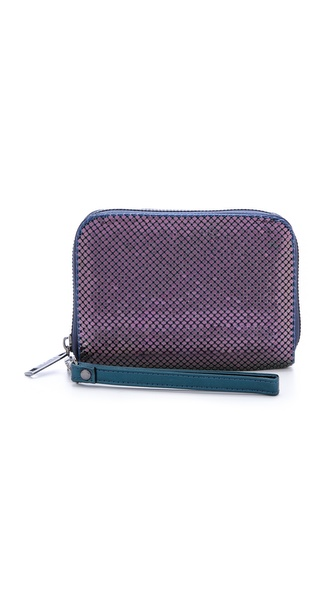 Whiting & Davis Smartphone Wallet - Peacock at Shopbop / East Dane