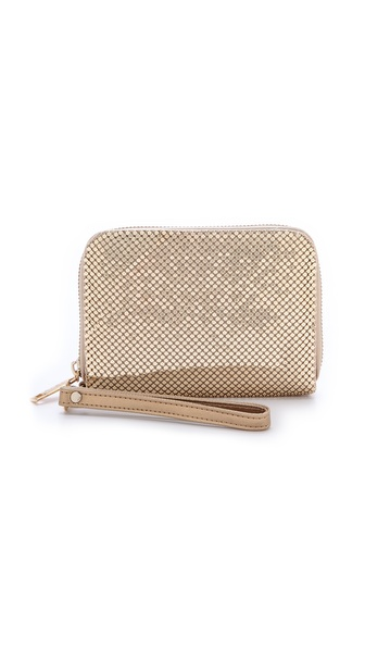 Whiting & Davis Smartphone Wallet - Gold at Shopbop / East Dane