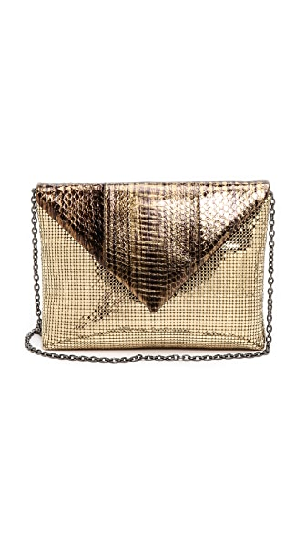 Whiting & Davis Envelope Clutch