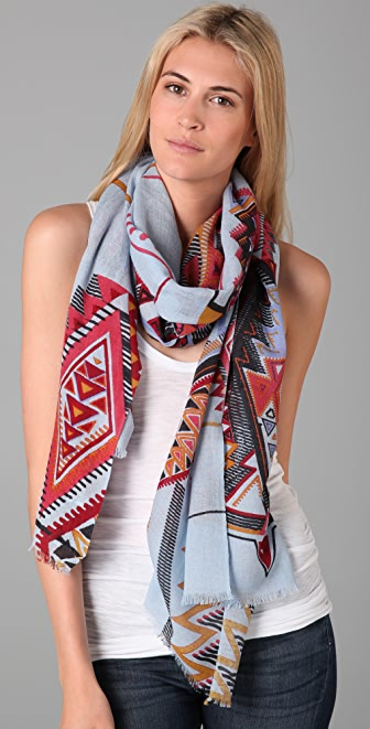 we are owls Tribal Scarf
