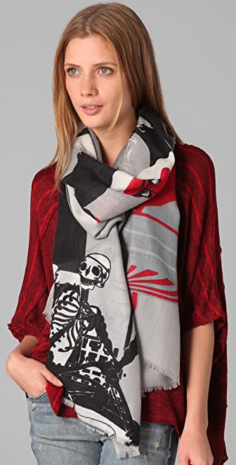 we are owls Twins Scarf