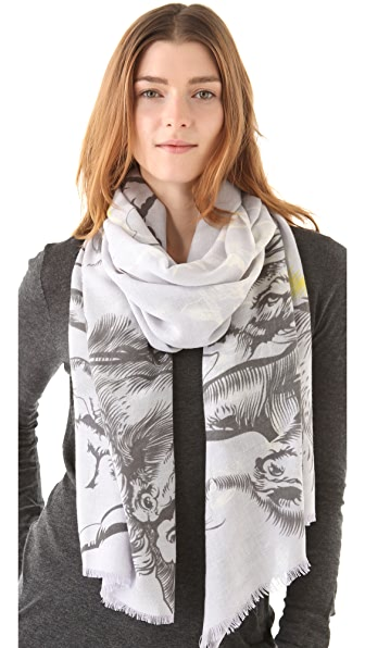 we are owls Horses Scarf