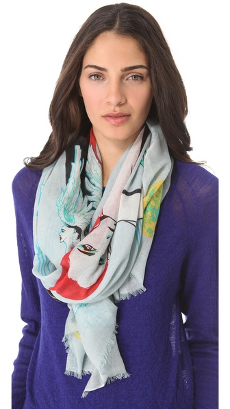 we are owls Sirens of the Sea Scarf