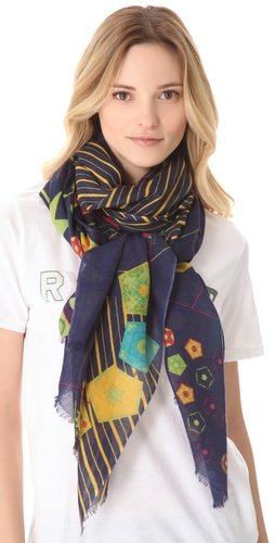 we are owls Cellular Scarf