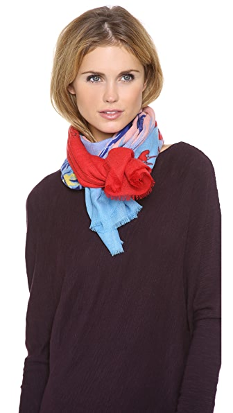 we are owls To Sleep Cashmere Scarf