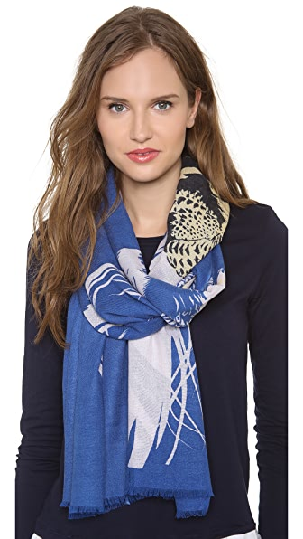 we are owls In the Shadows Cashmere Scarf