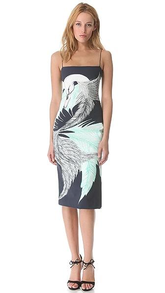Wes Gordon Cami Sheath Dress