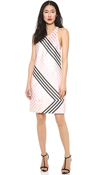 Wes Gordon Racer Back Dress