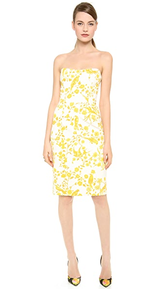Wes Gordon Demi Lune Dress