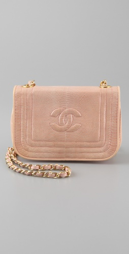 WGACA Vintage Vintage Chanel Lizard Bag