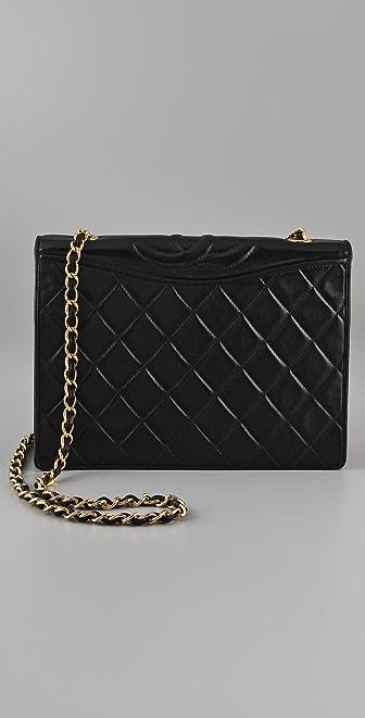 WGACA Vintage Vintage Chanel Top Logo Bag