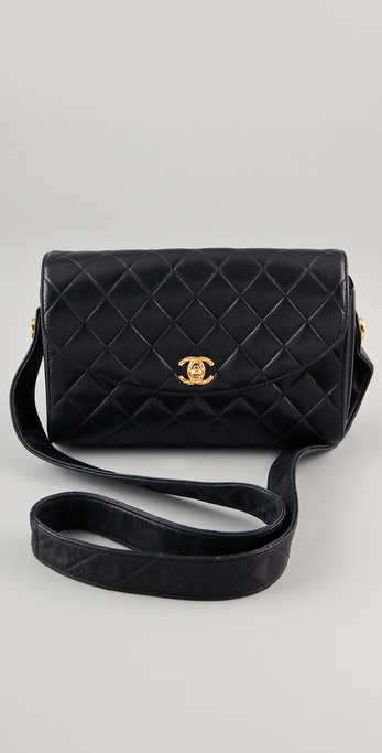 WGACA Vintage Vintage Chanel CC Leather Bag