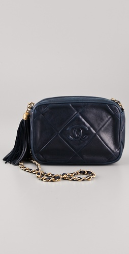 WGACA Vintage Vintage Chanel Quilted CC Shoulder Bag at Shopbop / East Dane