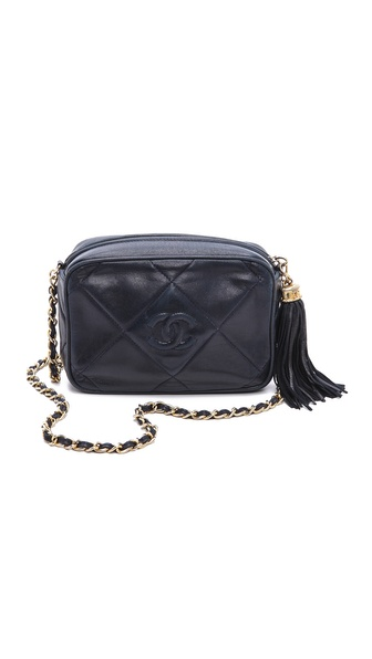 WGACA Vintage Vintage Chanel Quilted CC Shoulder Bag