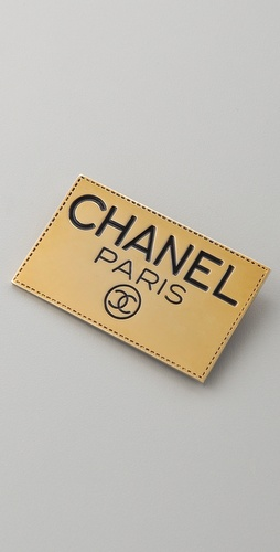 WGACA Vintage Vintage Chanel Paris Pin
