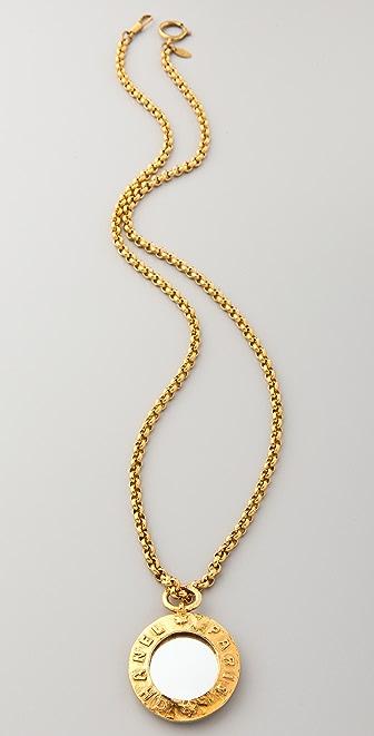 WGACA Vintage Vintage Chanel CC Paris Pendant Necklace
