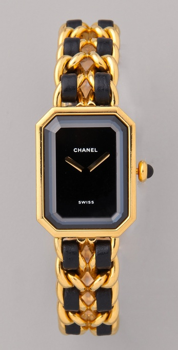WGACA Vintage Vintage Chanel Leather Watch